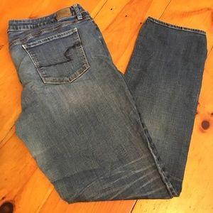 American Eagle Super Stretch Skinny Jeans.